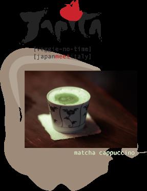 [veggie-no-time][japanmeetitaly] matcha cappuccino